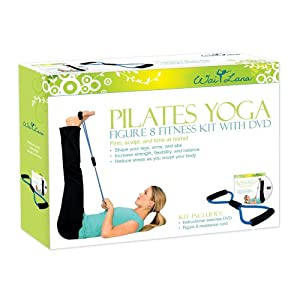 Wai Lana Kits: Pilates Yoga Figure 8 Kit with DVD