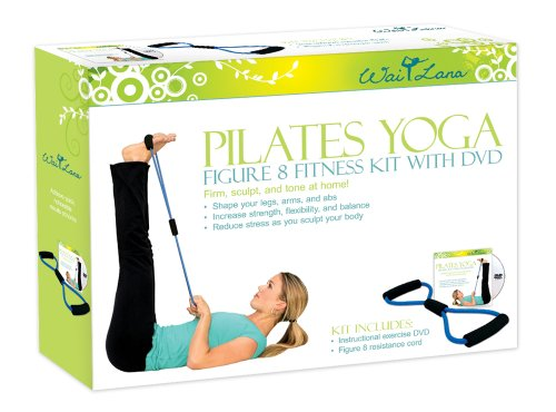 Wai Lana Kits: Pilates Yoga Figure 8 Kit with DVD by Wai Lana