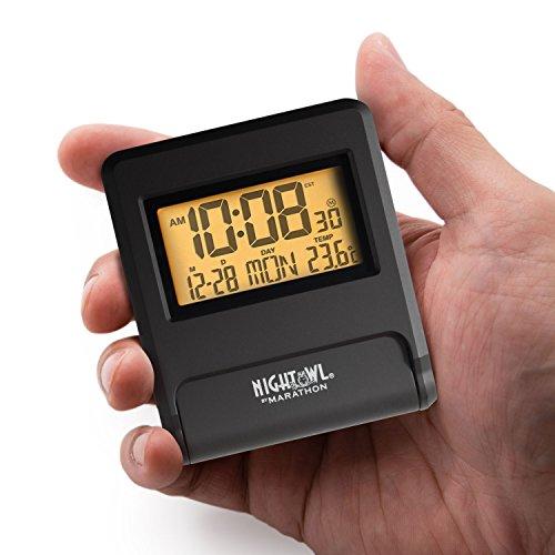 marathon atomic travel alarm clock instructions