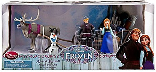 Disney Frozen Exclusive Playset Anna & Kristoff Sleigh - New in Box