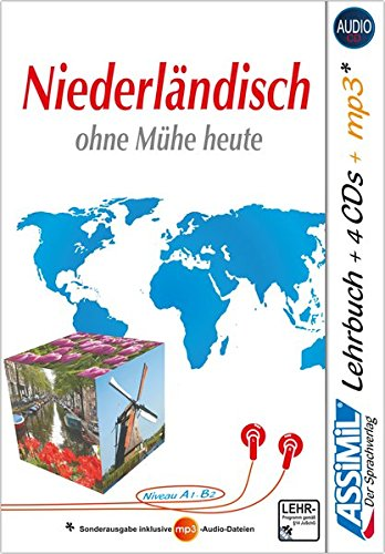 ASSiMiL Niederländisch Ohne Mühe Heute   Audio Plus Sprachkurs   Niveau A1 B2  Selbstlernkurs In Deutscher Sprache Lehrbuch + 4 Audio CDs + 1 MP3 CD