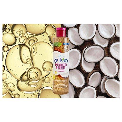 416yaHTsq6L St. Ives Exfoliate & Nourish Facial Oil Scrub, Coconut, 4.23 oz