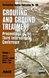 img - for Grouting and Ground Treatment: Proceedings of the Third International Conference, February 10-12, 2003, New Orleans, Louisiana (Geotechnical Special Publication) (v. 1 & 2) book / textbook / text book
