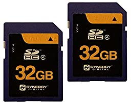 Leica C Digital Camera Memory Card 2 x 32GB Secure Digital High Capacity (SDHC) Memory Cards (2 Pack)