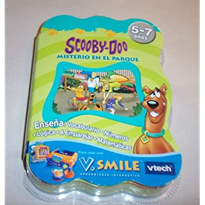 SCOOBY-DOO V.SMILE CARTRIDE MISTERIO EN EL PARQUE SPANISH VERSION: Video Games