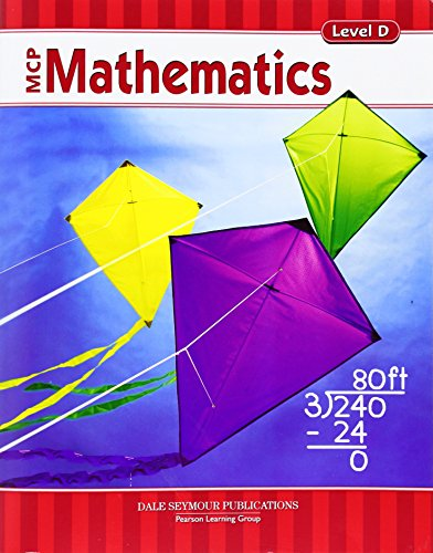 MCP MATHEMATICS LEVEL D STUDENT EDITION 2005C