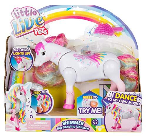 - Little Live Pets Shimmer My Dancing Unicorn Rainbow Colors
