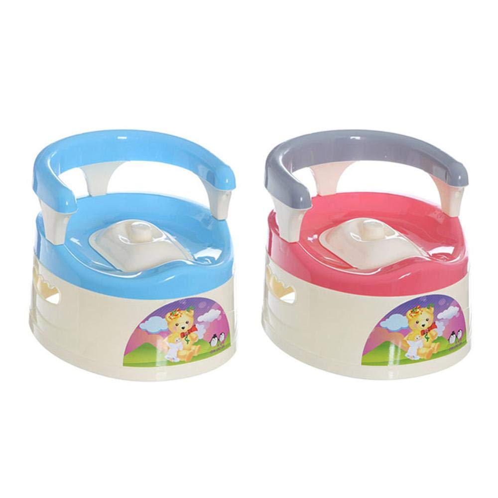 KathShop Baby Potty Toilet Car WC Seat Toilet Trainer Seat Chair Comfortable Portable Animal Stick Children Toilet for Baby Girl Boys