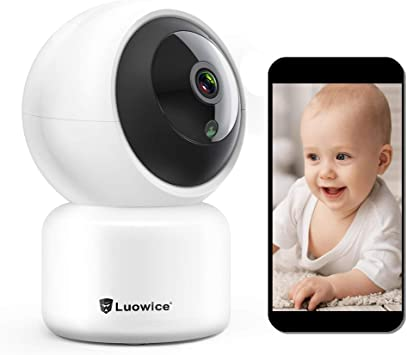 New Lensoul Wireless Baby Monitor Camera Home System 1080p WiFi Surveillance