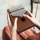 Kalimba 17 Key Mbira Finger Piano Mahogany Music