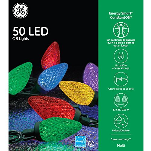 Ge Led Christmas Lights Wattage - 2