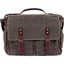 ONA The Astoria Camera & Laptop Messenger Bag - Dark Tan