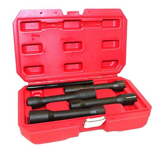 "1/2"" DR. Twist Socket Extended 150MM Impact Socket Set 17mm 19mm 21mm 22mm 5 Pcs. Set,Jikkolumlukka from Jikkolumlukka"