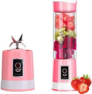 TYIUSB Rechargeable Portable Blender, Personal Blender, Used for Milkshakes, Smoothies, Food Grade PC Materials, High Speed 22000R/Min, Suitable for Home, Travel and Fitness Juicer