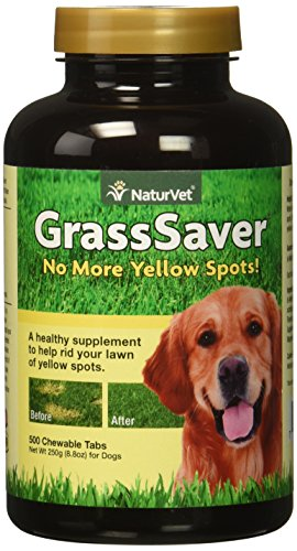 Naturvet Grass Saver 500 Chewable Tabs (Grasssaver Tablets)