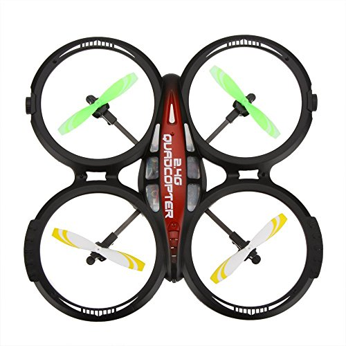 - LIANSHENG LS114 4CH 4 channel 2.4GHz RTF UFO aircraft airplane drone Radio Control Toy Hobby RC Quad Copter 6-axis with gyro [parallel import goods]
