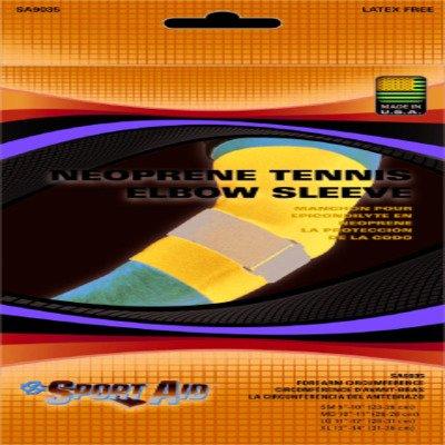 MCK93503000 - Scott Specialties Elbow Sleeve Sport-Aid Medium Hook and Loop Closure Tennis with Tension Strap (Elbow Sleeve Sportaid Tennis)