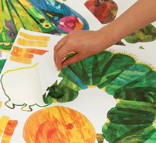 The Very Hungry Caterpillar Nursery And Playroom Wall Sticker Décor Kit:  Amazon.co.uk: Kitchen U0026 Home Part 23