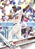 2017 Topps Series 2 #375 Yasiel Puig Los Angeles Dodgers Baseball Card