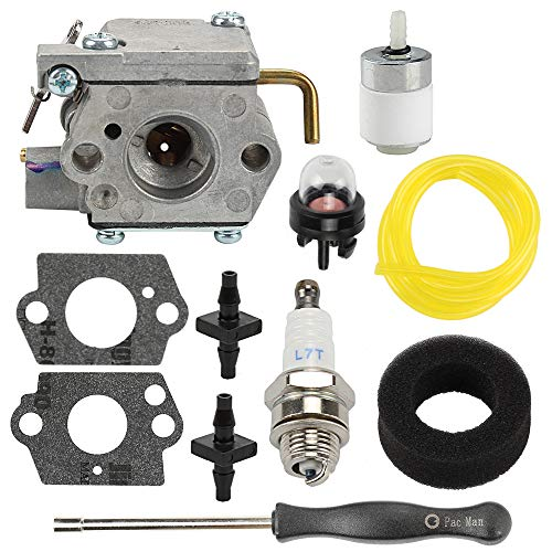 (Yermax 753-05133 WT-827 Carburetor Assembly for MTD Troy-Bilt Yard Machines TB10CS TB20CS TB20DC TB65SS TB70FH TB70SS TB90BC Trimmer TB310QS TB320BV Leaf Blower)