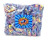 CrazyOutlet Pack - Sweetarts Mini Chewy Snack Packs, Fun Size Candy 0.6 Ounce Pouch, 54 Count