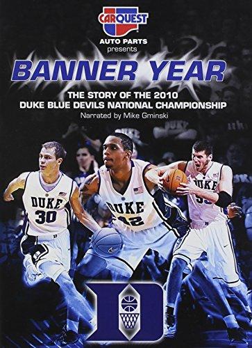 Banner Year: The Story of the 2010 Duke - Duke Blue Devils Dvd