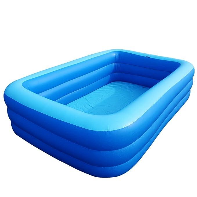 Amazon.com: DSFGHE - Bañera hinchable cuadrada para adultos ...
