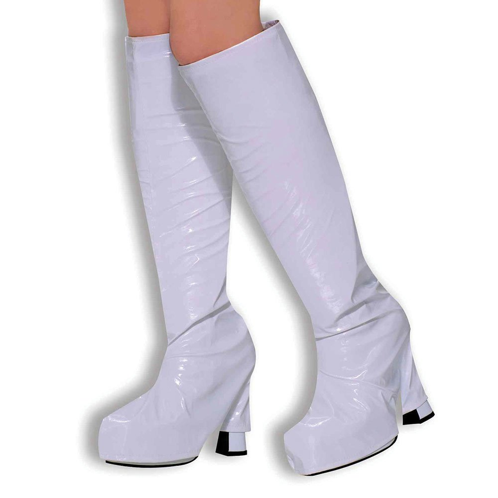 b46af7d4 Bristol Novelty BA309 Go Boot Tops White, Womens, One Size