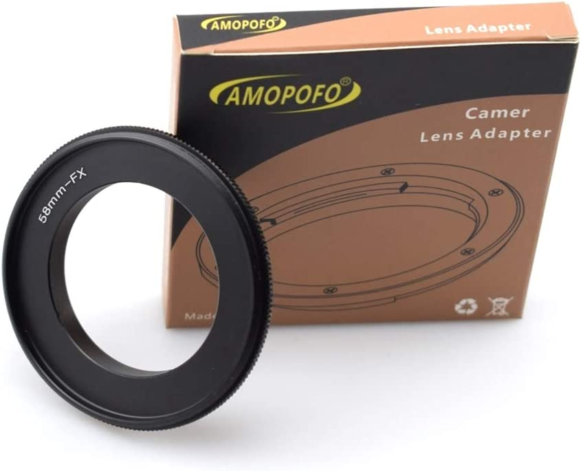 52mm to FX Lens Macro Reverse Adapter Ring for Fujifilm X Camera