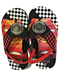 Pixar Boys Cars Summer, Beach, Pool/Flip-Flops Sandals (S 5/6) Black/Red