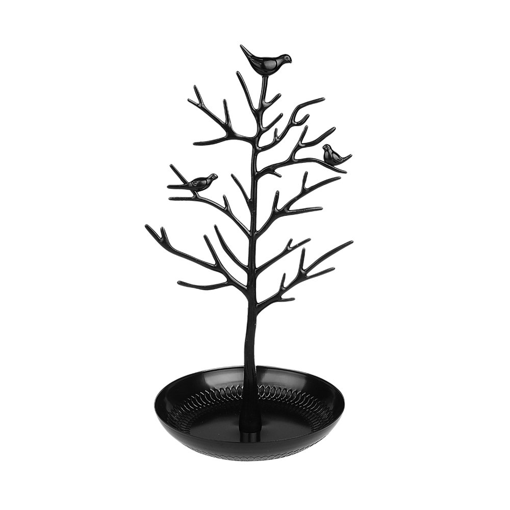 xhorizon TM SR Bird Tree Jewelry Stand Display Earring Rings Necklace Bracelet Holder Organizer Rack Storage Best Gift for Women Girls Friends