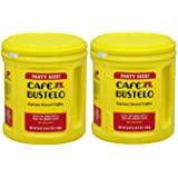 Cafe Bustelo Espresso Ground Coffee Party Size,36oz (2 PACK)