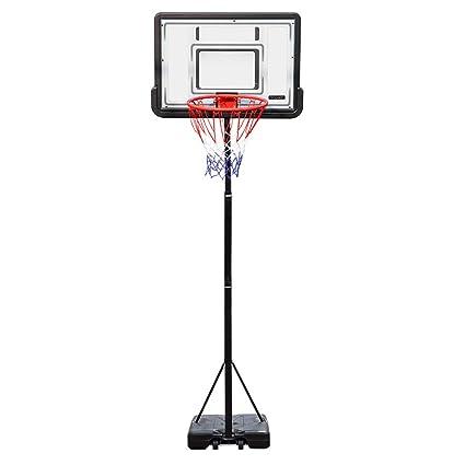 Amazon.com: PEXMOR - Canasta de baloncesto portátil con ...