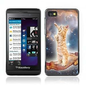 YOYOSHOP [Bacon and Cat] Blackberry Z10 Case