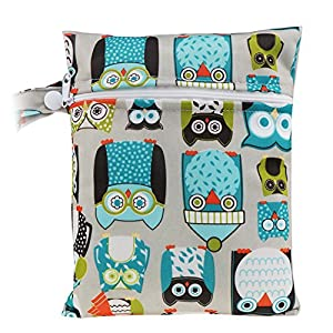 HailiCare Reusable Sanitary Towel Pads Bamboo Cloth Washable Menstrual Postpartum Pads Random Color