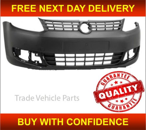 Trade Vehicle Parts VK1288 Front Bumper Black Textured No Pdc Or Washer Holes