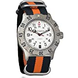 Vostok Komandirskie K-35 Mechanical AUTO Self-winding Mens Military Wrist Watch #350752 (black+orange)