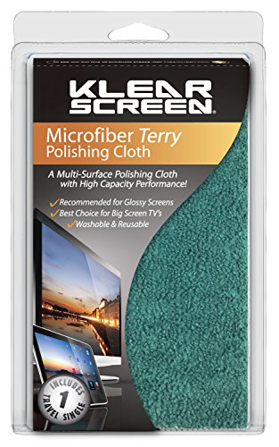 Klear Screen Deep Pile Terry Style Microfiber Cleaning Cloth (KS-MKK)