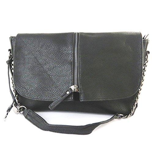 Bag designer 'Lulu Castagnette'nero - 35x20x10 cm.