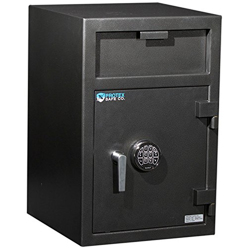 Protex Large Front Loading Depository Safe With Electronic Lock, 20