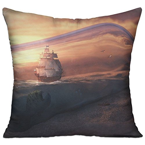 Lyle Clegg Pillows Filling Stuffing Linen Durable Bottle Sea Boat Sands Cushion Insert Filler Square (Boat Lounge Chairs Deck)