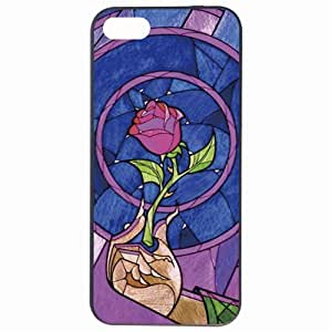 Fashion Colorful Rose Beauty And Beast Plastic Hard Back Skin Protector For SamSung Galaxy S3 Case Cover by Alexism