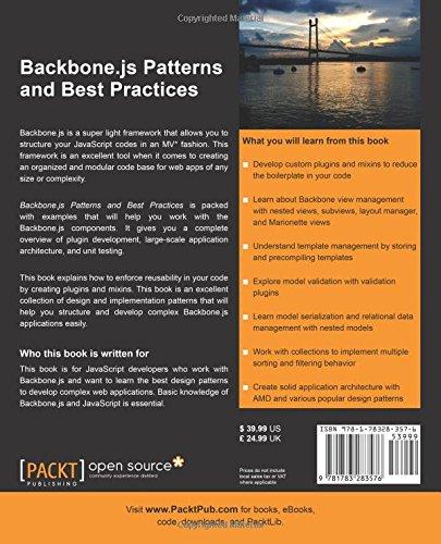 backbone js patterns and best practices swarnendu de
