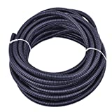 30 ft Dog Cat Cord Protector Cable Protect Electric Wires Covers Long Split Wire Loom Tubing Prevent Chewing for Dog Cat Puppy Kitten Pet Rabbit