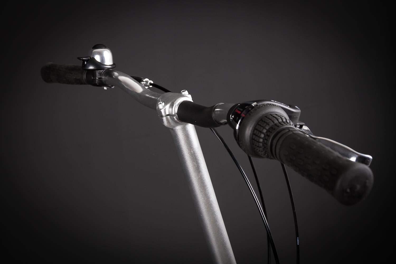 1 Zoll Vorbau f/ür Falt Klapp Fahrrad Falt Rad Alu 25,4 mm Silber 350mm lang MIFA B-Ware