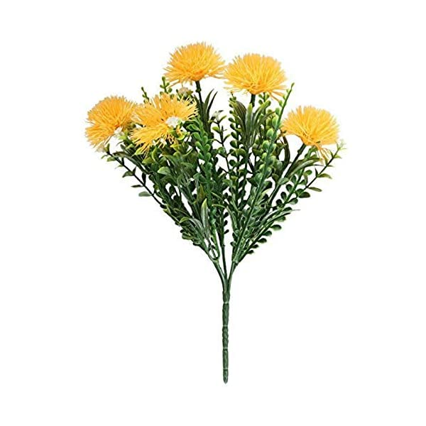 MARJON-Flowers4PCS-Artificial-Flowers-Fake-Plastic-Flowering-Plants-Faux-Shrub-Bundle-Table-Floral-Centerpieces-Arrangements-Home-Kitchen-Office-Windowsill-Decorations