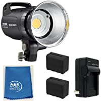 Yongnuo YN760 5500k PRO LED Light Kit With Two High Power Batteries , charger 80W , Umbrella
