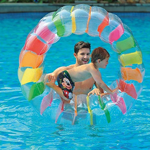 Juweishangmao Inflatable Pool Water Floating Ride Ball Kids Toys for Summer Beach Themed Party by Juweishangmao (Image #3)