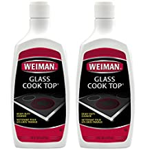 Weiman Glass Cook Top Heavy Duty Cleaner and Polish, 20 Ounce (Pack of 2)