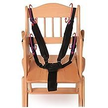 Baby Protection Seat Stroller Belt 5 Point Harness Safe Belt Seat For Stroller High Chair Children Kid Pushchair